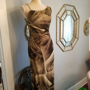 Bob Mackie Boutique Vintage beaded Gown size 6